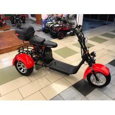 Электроскутер Citycoco WS-PRO Trike 3000w 21Ah - Красный