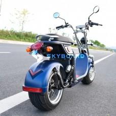 Электроскутер Citycoco SkyBoard BR4000 FAST (синий)