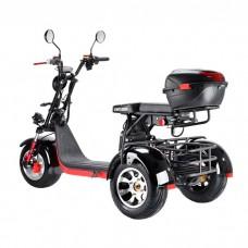 Электроскутер Citycoco WS-PRO Trike 3000w 21Ah - Черный